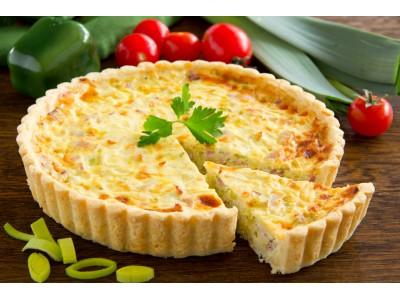 Quiche aux 3 fromages - La Ferme de Caillouet